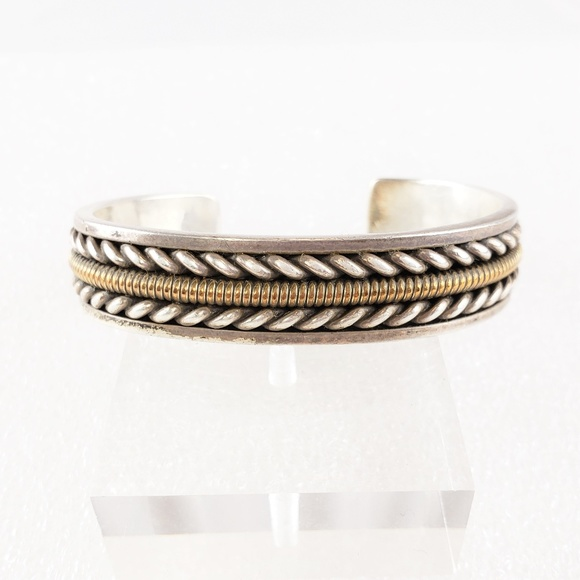 65ae339a9d8 Jewelry | Sterling Silver Bracelet Cuff Navajo | Poshmark